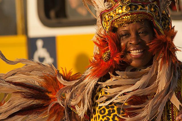 A beautiful woman in Rio Carnival. Image: RodrigoLobo.com