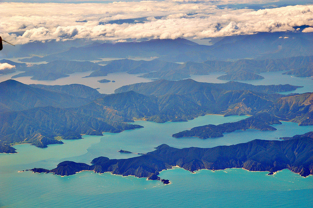 The Queen Charlotte Sound - New Zealand - Image: PATARIKA on flickr