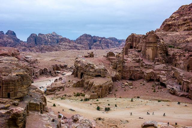 A landcape view of Petra, Jordan - Image by jscoke