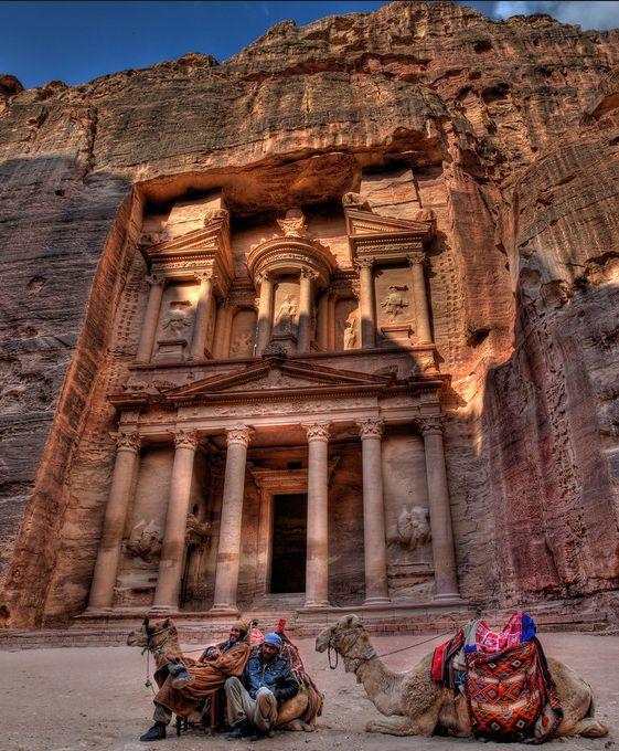 Petra - The red wonders of Jordan