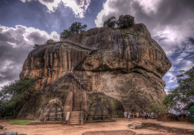Sigiriya Rock in Sri Lanka: A fascinating historic place - An image by james_gordon_losangeles