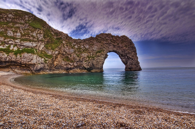 Durdle Door in Jurassic Coast of England: A photographic Vintage - Andreas-photography