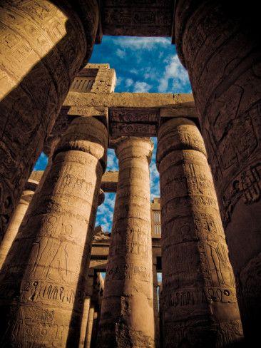 Great Hypostyle Hall - Karnak Trmple, Egypt