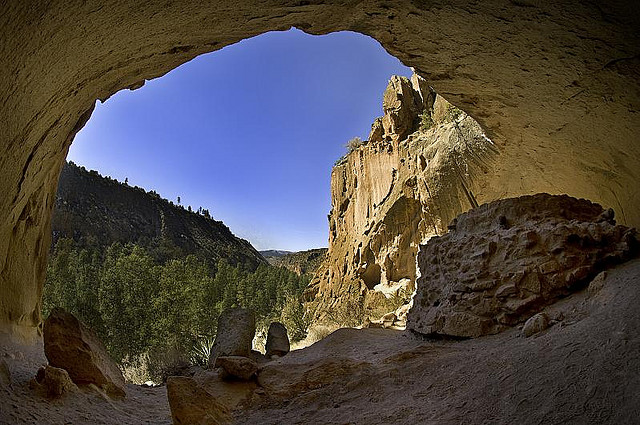 A room view from Bandelier National Monument - Image: Kevin Eddy