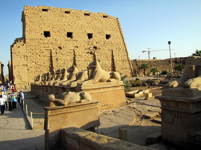 Precinct of Amun-Re in Karnak Temple Complex - Luxor, Egypt - Image by David Berkowitz