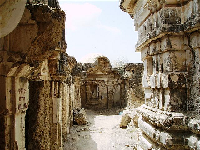 Ghori Temple of Nagarparkar This legendary temple with 52 subsidiary shrines was built in AD 1375-6.
