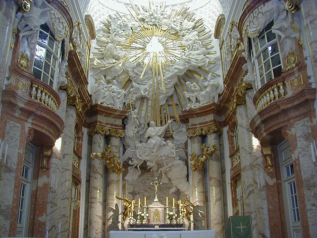 Karlskirche - Vienna, Austria - Image: Pictophile