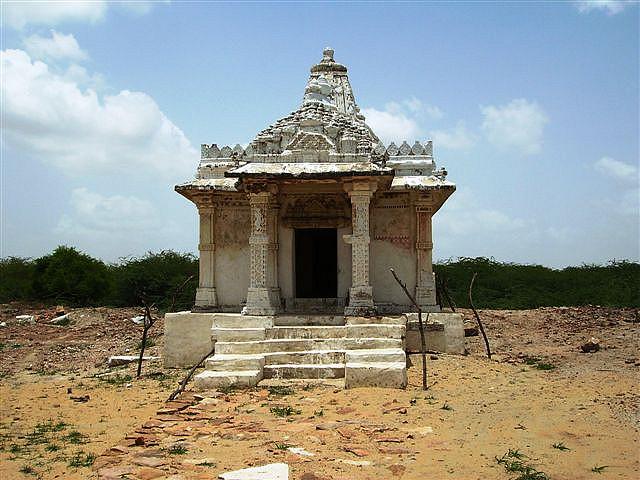 The Jain Temple of Pari Nagar, situated at Virawah, Nagarparkar, Sindh - Image: Dr.S.Ali Wasif