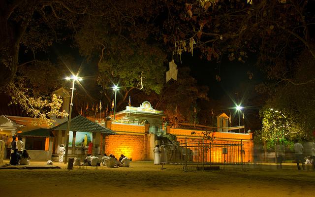 The Sacred Jaya Siri Maha Bodhi in Anuradhapura - Image: kBandara