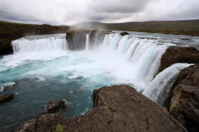 Waterfall of Godsin Iceland by Stig Nygaard