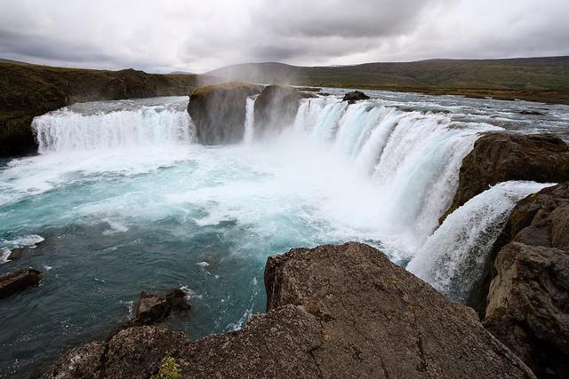 Waterfall of Godsin Iceland by Stig Nygaard