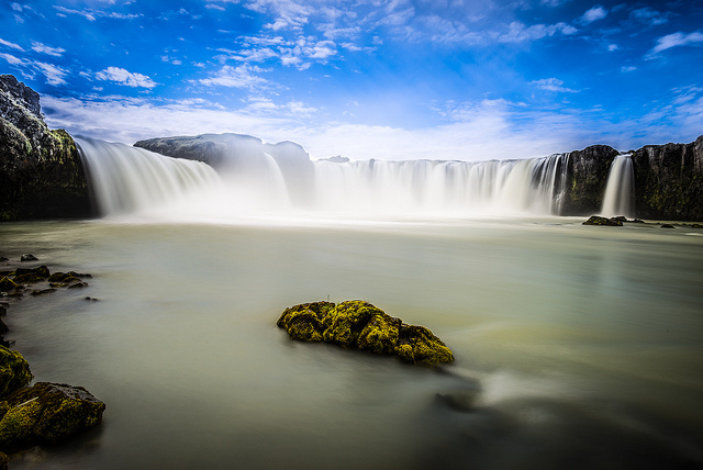 A stunning view of The Goðafoss - Image:  howardignatius