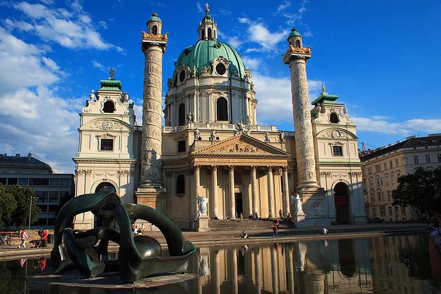 Karlskirche: A Phenomenal Baroque Church of Austria - Photo by jmenard48