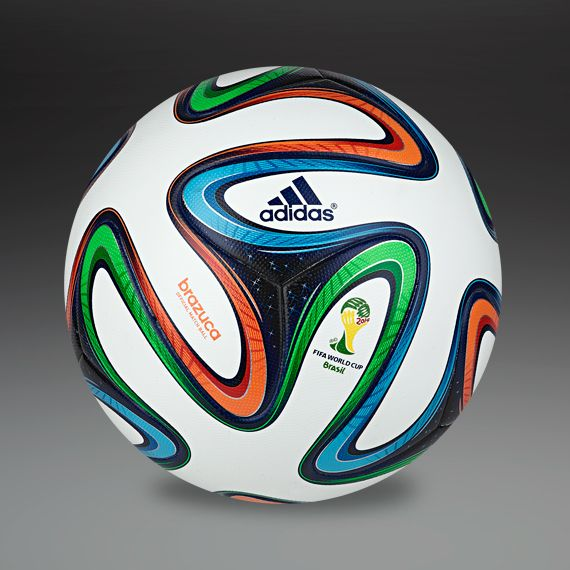 Adidas Brazuca - Made in Pakistan. For 2014 Fifa World Cup, Brazil