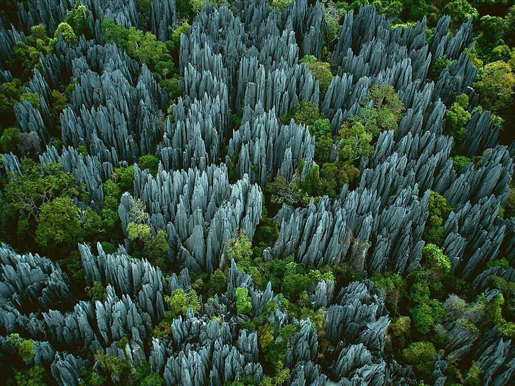 Tsingy de Bemaraha - Stone Forest  - Image courtesy:  matador network