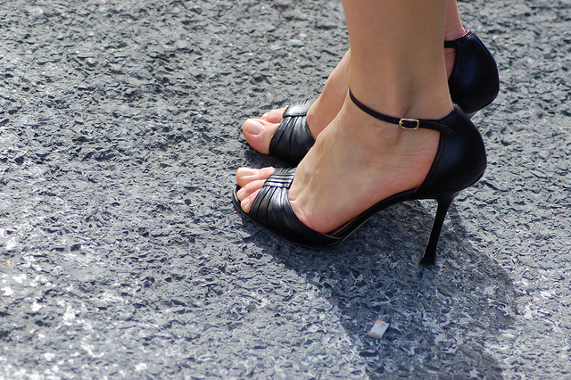 Take care of your heels and toes - Photo: P.C Images