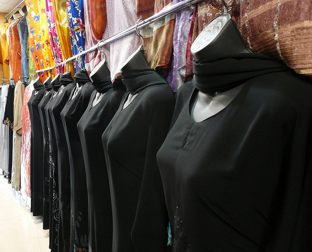 Abaya - In different exotic desings - A photo by Lars Plougmann