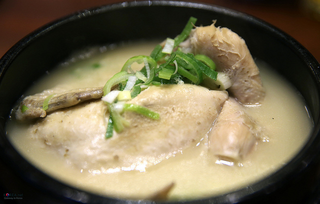 Samgyetang - Traditional Summer Dish of Korea - Image by by KOREA.NET - Official page of the Republic of Korea