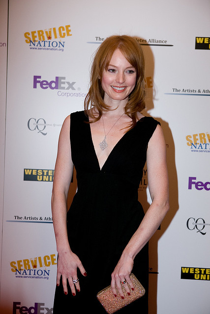 Alicia Witt - A comely American film, stage, and television actress. Born August 21, 1975 -  An image by Be the Change, Inc.