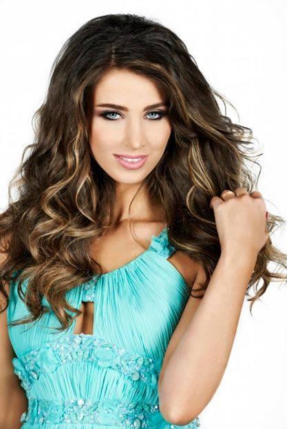 Annabella Samir Hilal - Born 1986.  An opulent Lebanese model and TV presenter