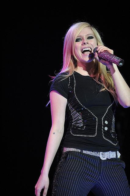 Avril Ramona Lavigne. A marvelous Canadian singer-songwriter. Born 27 September 1984: Image by lUUk_