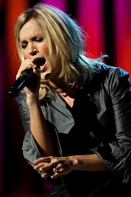 Carrie Marie Underwood. A blazing American country music singer, songwriter, and actress - Image by Thomas Hawk
