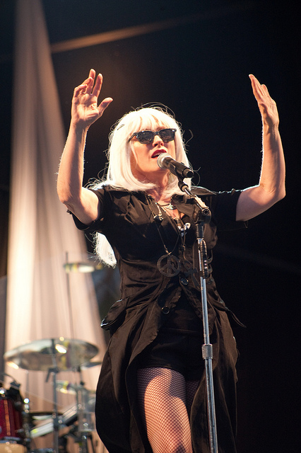 """Deborah Ann """"Debbie"""" Harry. A superb American singer-songwriter and actress, best known as the lead singer of the new wave and punk rock band Blondie - Image: Kew"""