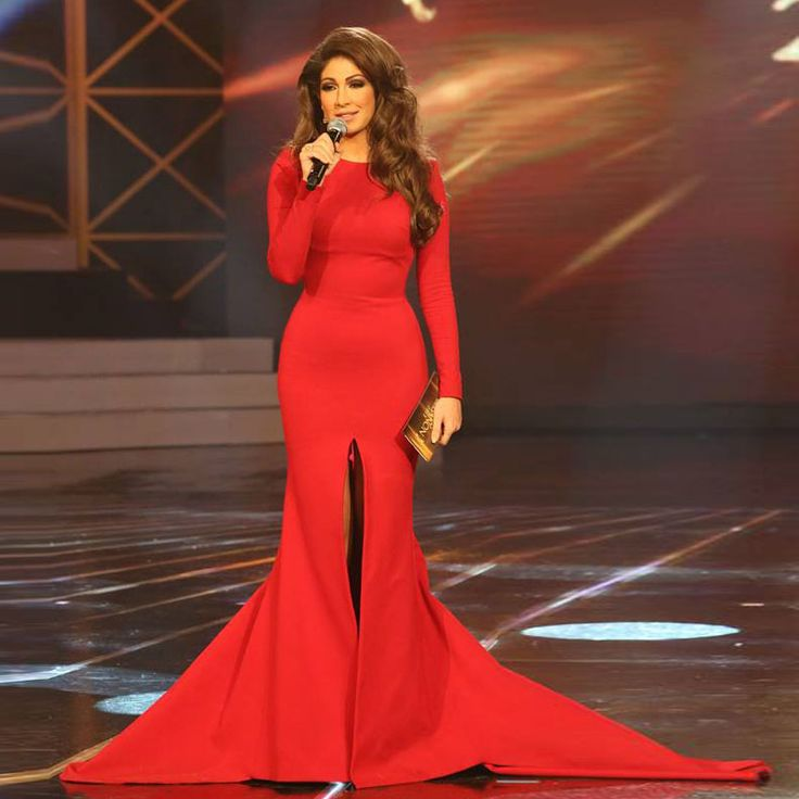 Dima Sadek — A gorgeous Lebanese journalist and TV anchor