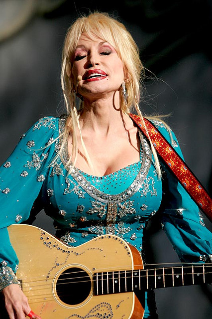 Dolly Rebecca Parton. A fabulous American singer-songwriter, instrumentalist, actress, author, and philanthropist. Born January 19, 1946 - Image by prawnpie