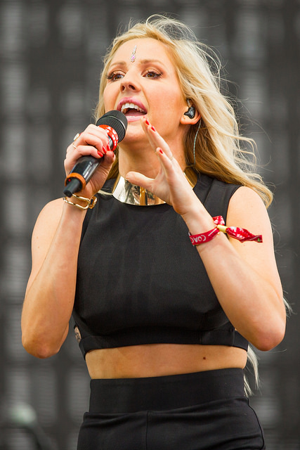 """Elena Jane """"Ellie"""" Goulding - Born 30 December 1986. A renowned English singer-songwriter, multi-instrumentalist and actress - Image  by Thomas Hawk"""