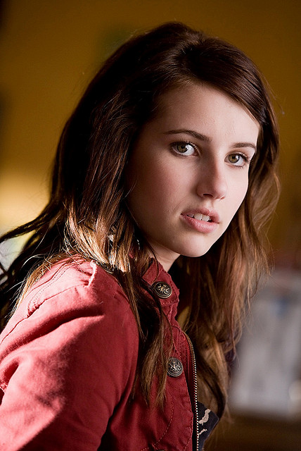 Emma Roberts - A distinctive American actress, model and singer. Born February 10, 1991- Image by tchuntfr