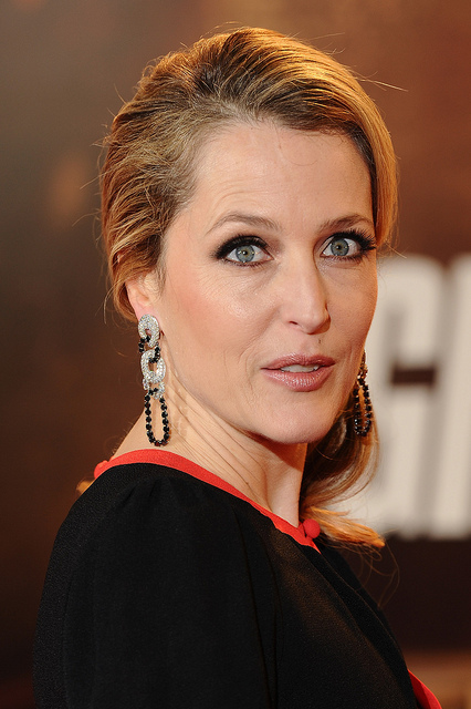 Gillian Anderson - An outlandish American actress. Born August 9, 1968 - Image  by Beacon Radio