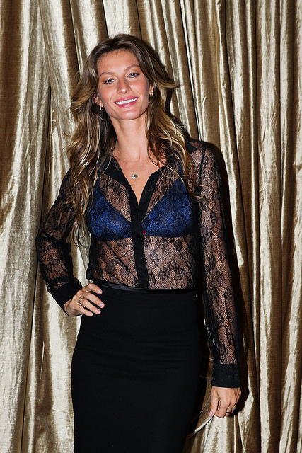 Gisele Bundchen. A provocative Brazilian fashion model, actress, and producer. Born July 20, 1980. Image by JulianMarques