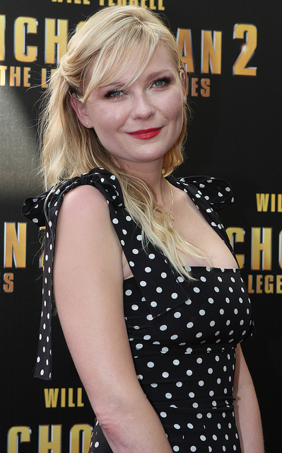 Kirsten Dunst. A seductive American actress, singer, model and director.  Born April 30, 1982. Image by Eva Rinaldi Celebrity and Live Music Photographer