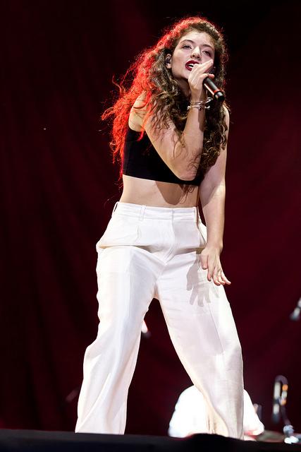 Ella Marija Lani Yelich-O'Connor. Lorde: A New Zealand singer-songwriter. Born 7 November 1996 - Image  by liliane callegari