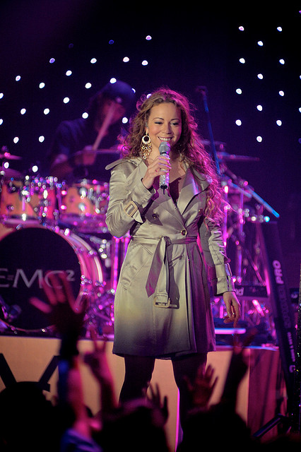 Mariah Carey: The sizzling American singer-songwriter and actress. Born March 27, 1969 or 1970 - Image by Wentbackward