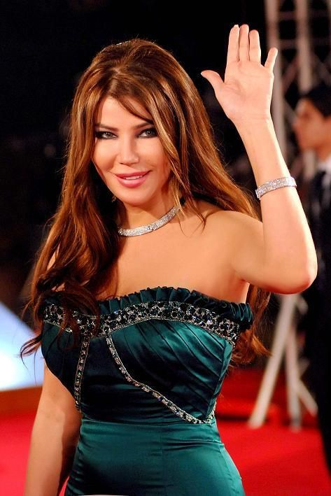 May Hariri - Born December 24, 1968. A captivating Lebanese pop artist and actress