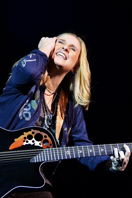 The heart-stopping Melissa Lou Etheridge - Born May 29, 1961- An American rock singer-songwriter, guitarist, and activist - Image by Caviche