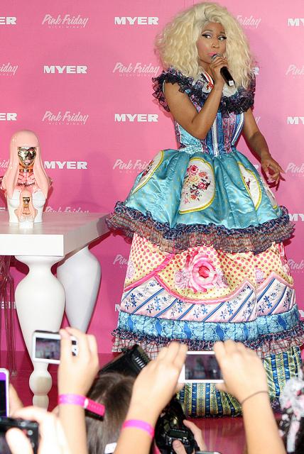 The heart-stirring Onika Tanya Maraj – Nicki Minaj - Born December 8, 1982. an American rapper, songwriter and actress - Image by Eva Rinaldi Celebrity and Live Music Photographer