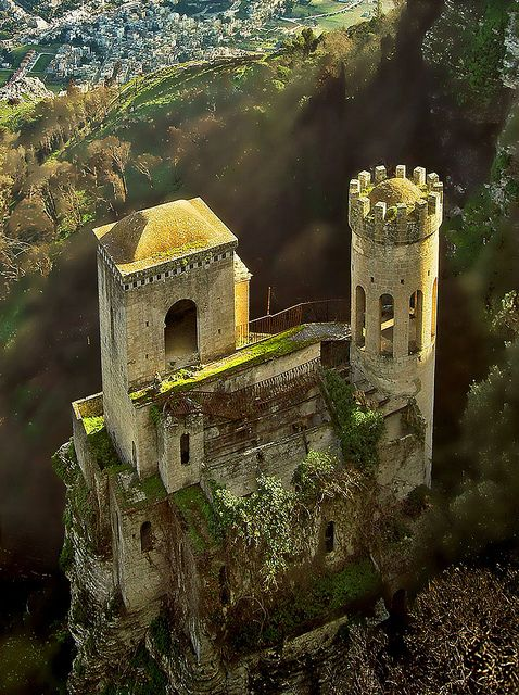Pepoli Castle in Sicily - Italy - Photo by fran_ce8