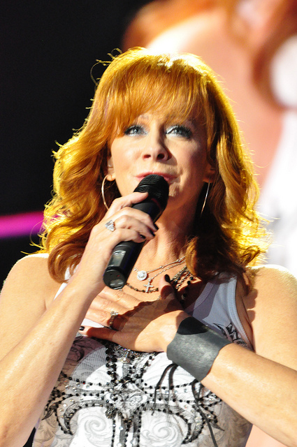 The stimulating Reba Nell McEntire - Born March 28, 1955. An American country music singer, songwriter and actress - Image  by salva1745