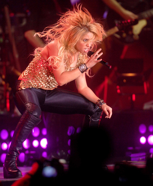 The glowing and incredible Shakira Isabel Mebarak Ripoll - Born February 2, 1977. A Colombian singer-songwriter, dancer, record producer, choreographer, and model - Image by Il Fatto Quotidiano