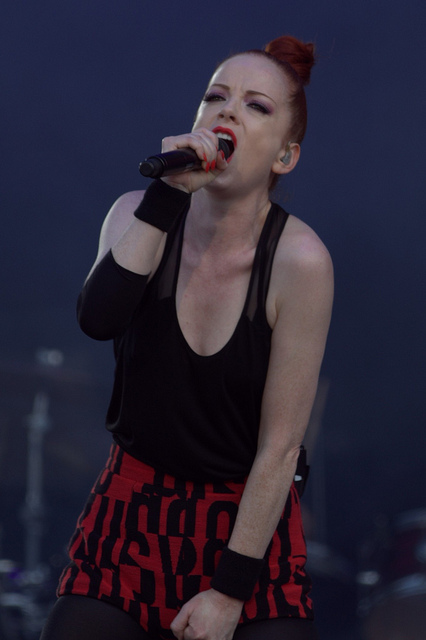 Shirley Manson -A fantastic a Scottish musician and actress. Born 26 August 1966 -  Image by l0b0