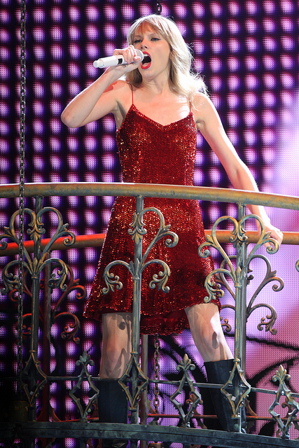 The full-blooded Taylor Alison Swift. An American singer-songwriter and actress - Image by Eva Rinaldi Celebrity and Live Music Photographer