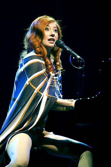 The hearty Tori Amos. Born August 22, 1963. An American singer-songwriter, pianist and composer - Image by pieter.morlion