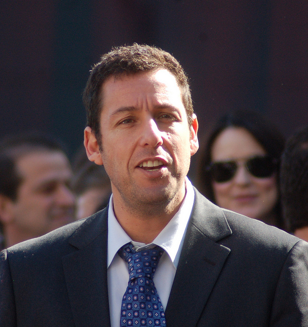 Adam Richard Sandler  Born September 9, 1966. An exceptional American actor, comedian, screenwriter, entrepreneur, film producer, and musician - Image by Sharon Graphics
