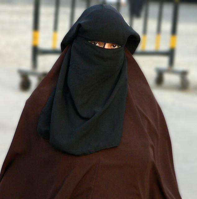 Egypt Abaya Burqa. Image  by rytc
