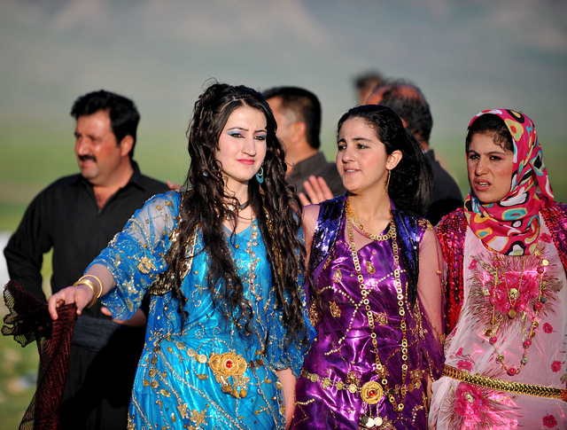 Kurdish Wedding. Costumes. Image by lachicaphoto