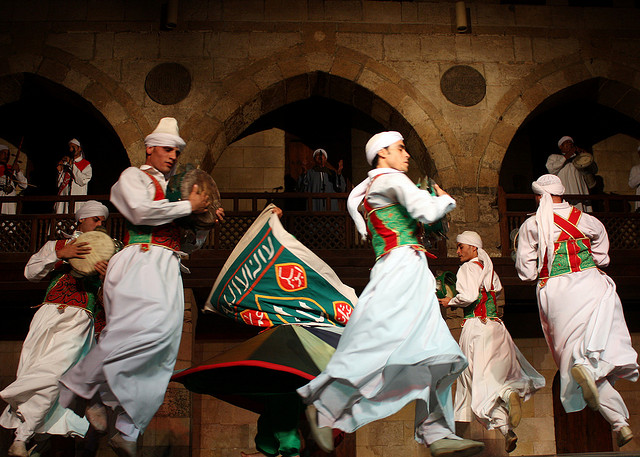 Tannoura Dancers from Cairo, Egypt. Image by ~W~