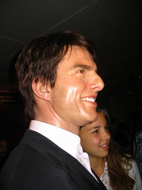 "Thomas ""Tom"" Cruise Born July 3, 1962. An outlandish American film actor and producer. He has been nominated for three Academy Awards and has won three Golden Globe Awards. - Image by Alex Jilitsky"